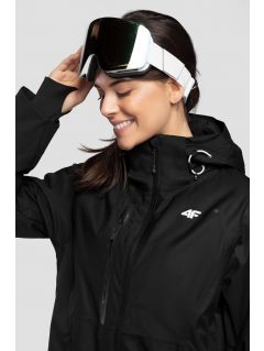 Dámska lyžiarska bunda  KUDN206 - čierna