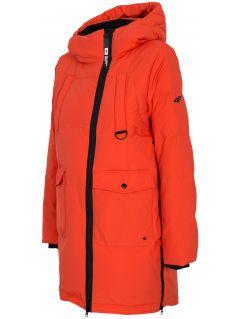 Dámska bunda so syntetickou výplňou KUDP216 – červená