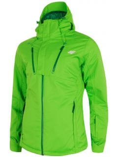 Pánska lyžiarska bunda KUMN254 – svetlozelená