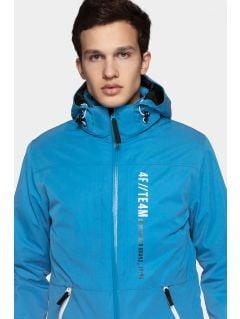 Pánska lyžiarska bunda KUMN552R - modrá