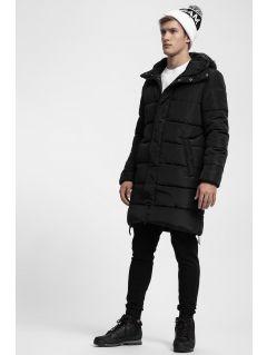 Pánsky kabát so syntetickou výplňou KUMP200 - čierna