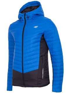 Pánska bunda so syntetickou výplňou KUMP202 – modrá