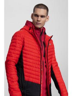 Pánska bunda so syntetickou výplňou KUMP202 – červená