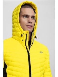 Pánska bunda so syntetickou výplňou KUMP202 – žltá