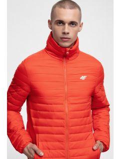 Pánska bunda so syntetickou výplňou KUMP205 – červená