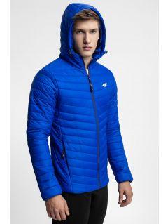 Pánska bunda so syntetickou výplňou KUMP301 -  tyrkysový