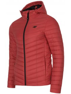 Pánska bunda so syntetickou výplňou KUMP301 -  červená