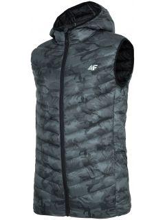 Pánska vesta KUMP302 – multifarebná allover