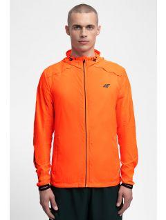 Pánska bežecká bunda KUMTR202 - neónová oranžová