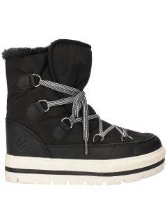 Dámske topánky do snehu OBDH201 – čierna