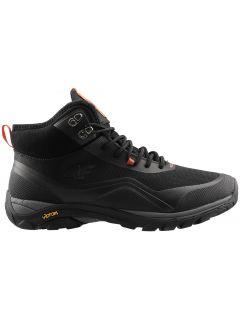 Pánske mestské topánky OBMH203 - čierna