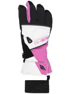 Dámske lyžiarske rukavice RED150 – fuksiová