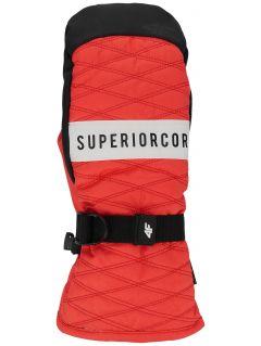 Dámske lyžiarske rukavice RED250 – červená