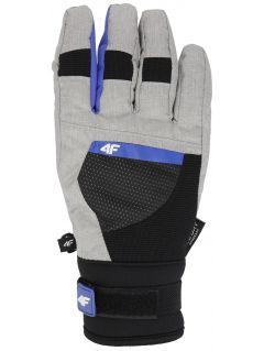Dámske lyžiarske rukavice RED251 - šedá melanž