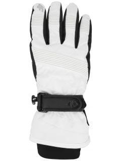 Dámske lyžiarske rukavice RED252 – biela
