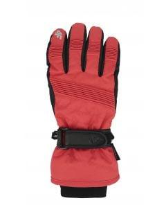 Dámske lyžiarske rukavice RED252 – červená