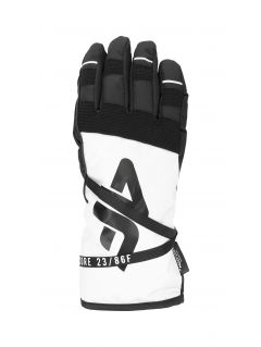 Dámske lyžiarske rukavice RED253 – biela