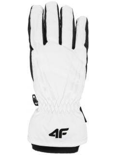 Dámske lyžiarske rukavice RED350 – biela