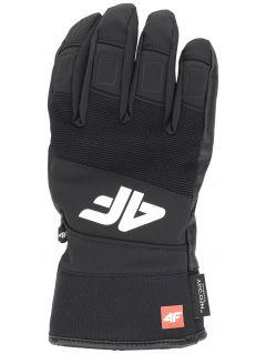 Pánske lyžiarske rukavice  REM250 – čierna