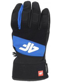Pánske lyžiarske rukavice  REM250 – kobaltová modrá