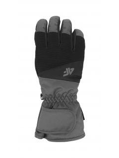 Pánske lyžiarske rukavice  REM350 – čierna