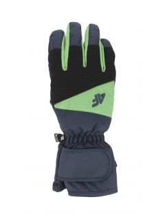 Pánske lyžiarske rukavice  REM350 – tmavomodrá