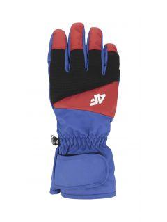 Pánske lyžiarske rukavice  REM350 – kobaltová modrá