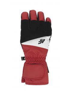 Pánske lyžiarske rukavice  REM350 – červená