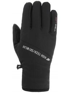 Softshellové rukavice unisex REU105 - čierna