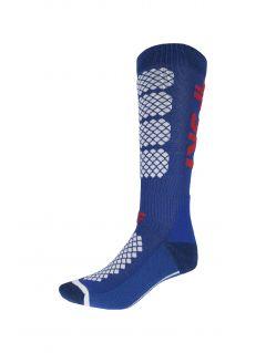 Dámske lyžiarske ponožky SODN250 – kobaltová modrá