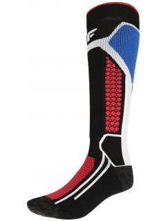 Dámske lyžiarske ponožky SOMN150 – čierna