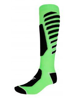 Pánske lyžiarske ponožky SOMN348 – limetková
