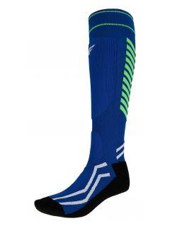 Pánske lyžiarske ponožky SOMN350 – modrá