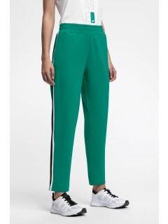 Dámske teplákové nohavice SPDD224 – zelená