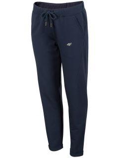 Dámske teplákové nohavice SPDD291 - tmavomodrá