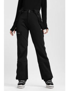 Dámske lyžiarske nohavice SPDN203 - čierna