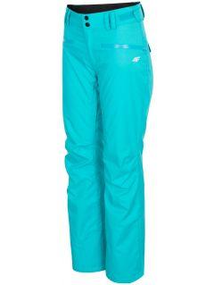 Dámske lyžiarske nohavice SPDN270 - tyrkysová