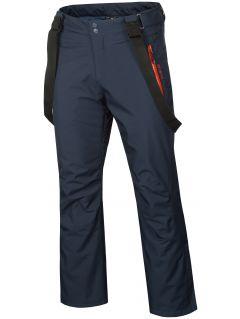 Pánske lyžiarske nohavice SPMN250 - tmavomodrá
