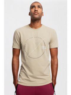 Pánske tričko TSM269 - béžová