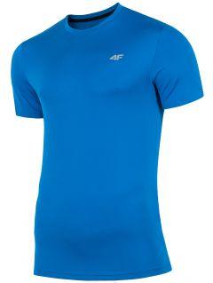 Pánske tréningové tričko TSMF300 - kobaltová modrá