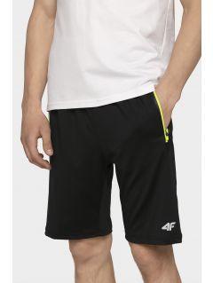 3dbda203824a Pánske tréningové šortky SKMF004 - hlboko čierna