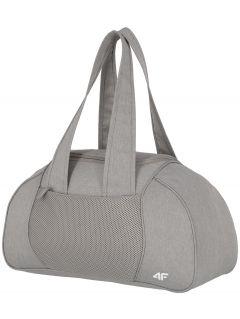 Cestovná taška unisex TPU001 - svetlošedá melanž