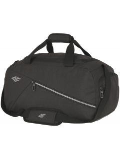 Cestovná taška unisex TPU006 - hlboko čierna melanž