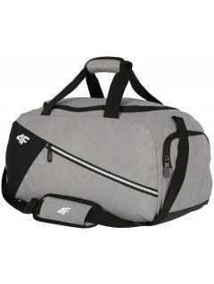 Cestovná taška unisex TPU006 - svetlošedá melanž