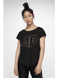 d41d090c6d73 Dámske tréningové tričko TSDF005 - hlboko čierna