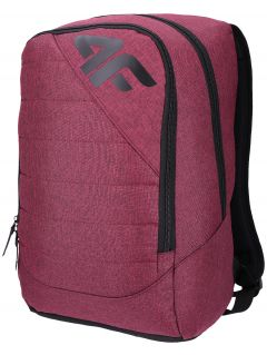 Mestský batoh PCU003 - burgundská červená melanž