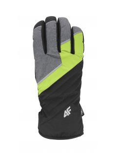 Pánske lyžiarske rukavice REM003 – zelená
