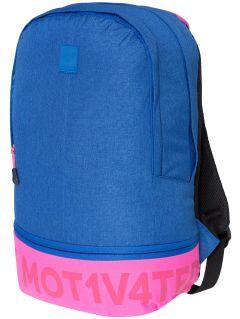 Mestský batoh PCU002 - kobaltová modrá melanž