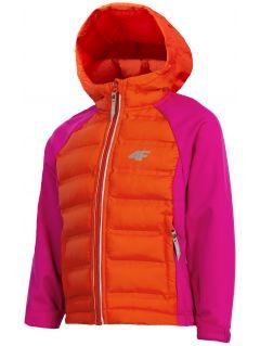 Softshellová bunda pre dievčatá (98-116) JSFD300 – fuksiová
