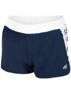 Športové šortky pre dievčatá (122-164) JSKDTR400 – tmavomodrá